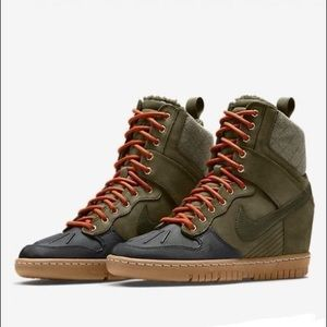 Nike Dunk Super Sky HI Sneakerboot Wedge